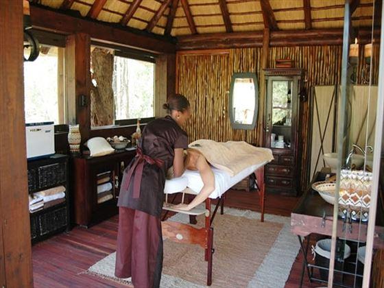 Simbambili Game Lodge spa
