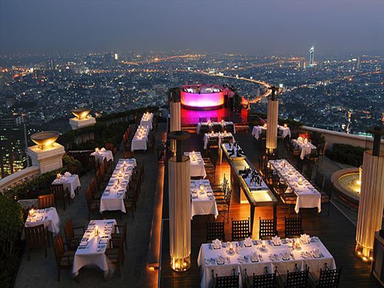 Sirocco restaurant at Tower Club at lebua