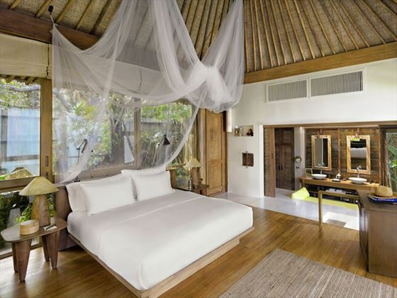 Pool Villa Interior, Six Senses Samui