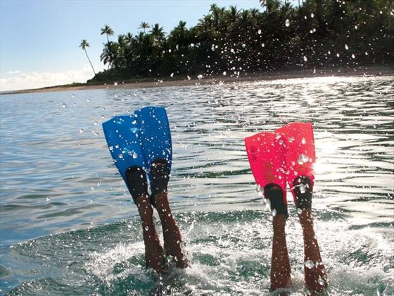 Water sports in Fiji