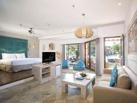 Xtra Beach House Junior Suite at Sol Beach House Melia Benoa