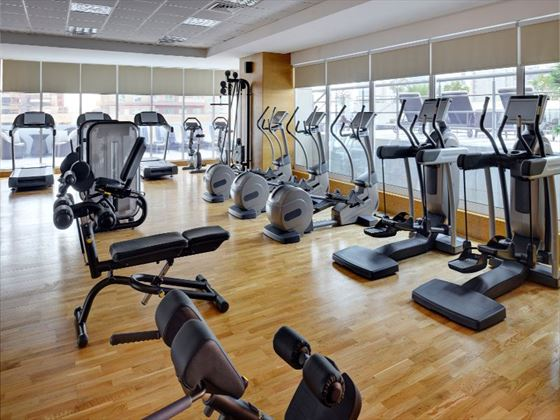 Soul fitness club at Movenpick Jumeirah Lakes Towers