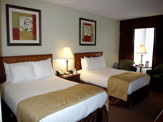 Best Western Sovereign Double Queen Room