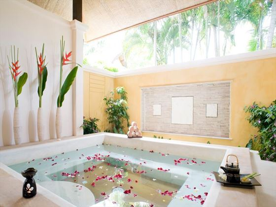Spa Jacuzzi at Centara Karon Resort