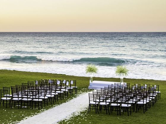 The Spa Lawn wedding venue is perfect for ceremonies