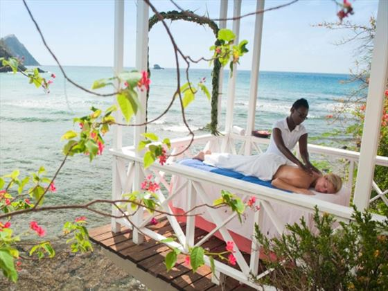 Spa massage treatment at Smugglers Cove Resort & Spa