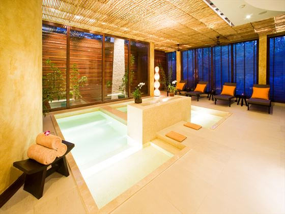 Spa plunge pool at Centara Grand Beach Resort Pattaya