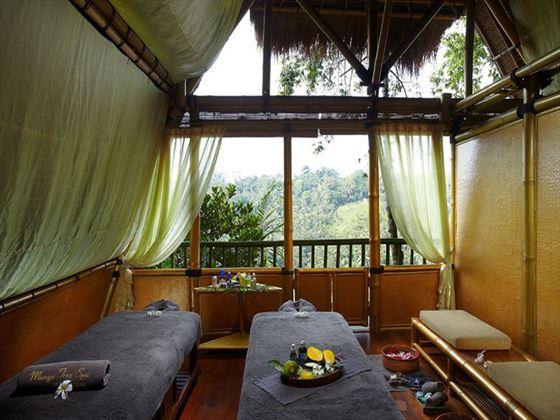 Spa room at Kupu Kupu Barong Villas & Tree Spa