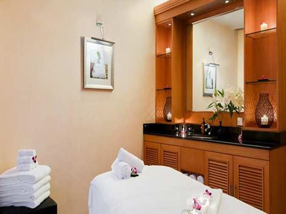 Spa treatments at Hilton Dubai Jumeirah Beach Resort