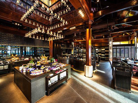 Spice Market restaurant at Meritus Pelangi Beach Resort & Spa