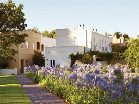 Spier Hotel garden