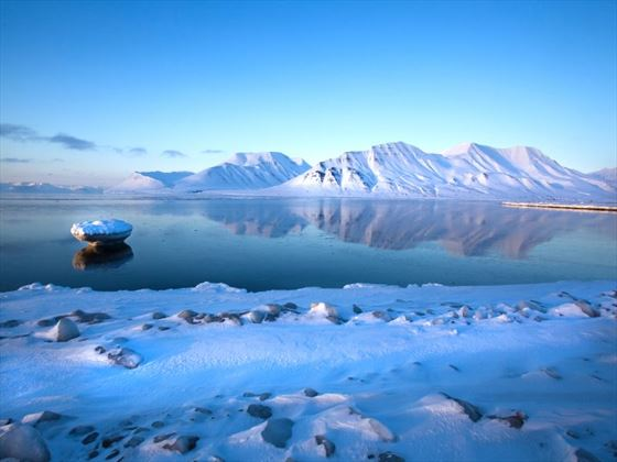 Spitsbergen mountains