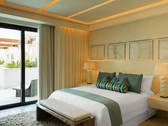 St Regis Saadiyat Island Contemporary Suite bedroom