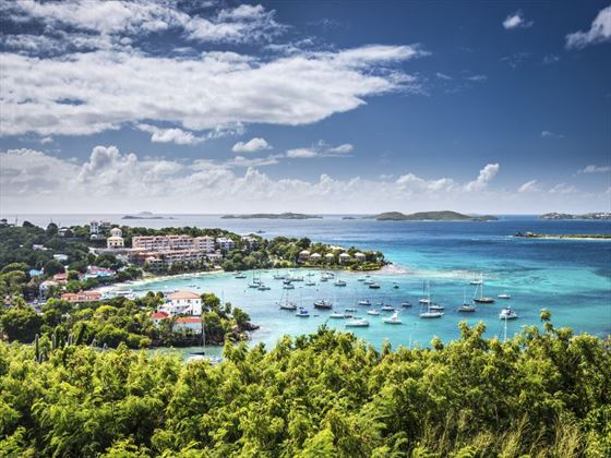 St Thomas in US Virgin Islands