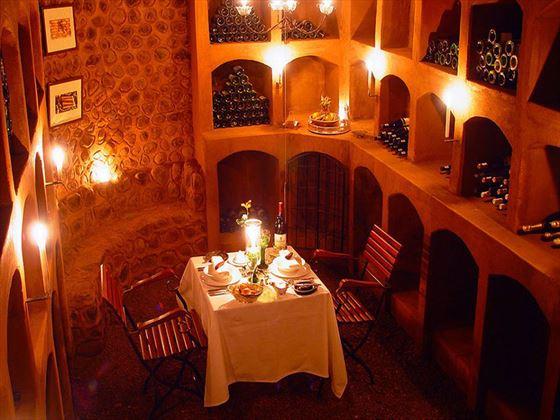 Stanley Safari Lodge private dining