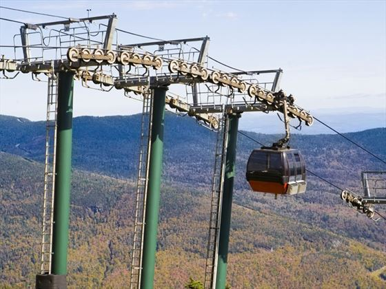Stowe cable car