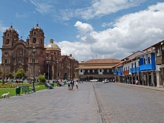 Historic buildings in Peru