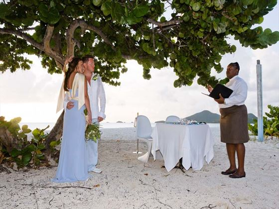 Beach wedding, Sugar Ridge