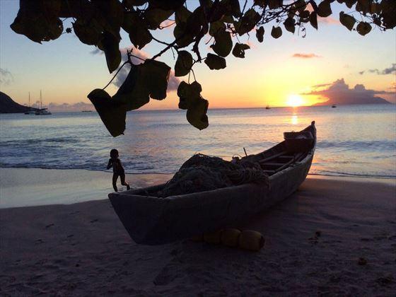 Sunset, The H Resort Beau Vallon Beach