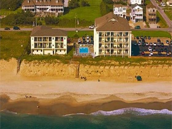 Surf Side Hotel Aerial View, Nags Head, North Carolina