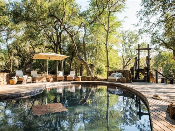 Swimming pool at Dulini Lodge