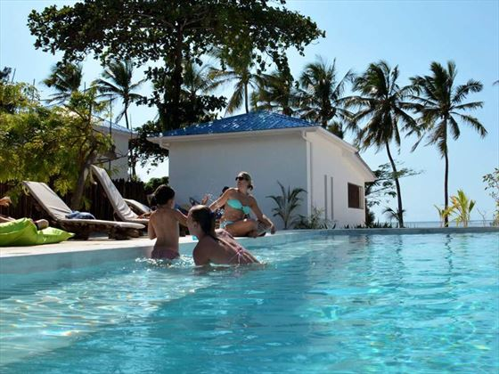 Swimming pool at Indigo Beach Zanzibar