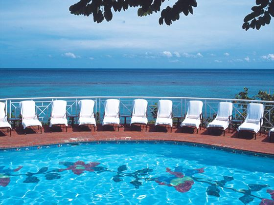 Swimming pool at Sandals Royal Plantation Ocho Rios