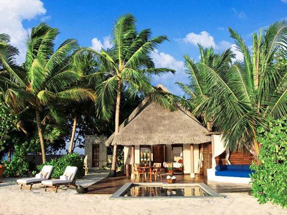 Taj Exotica Resort & Spa Deluxe Beach Villa exterior view