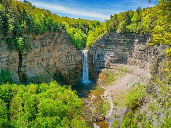 Taughannock Falls near Ithaca