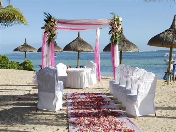 Beautiful wedding venue at Heritage Le Telfair