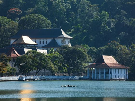 Temple of the Tooth in Kandy