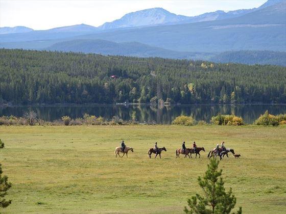 Horse riding at Terra Nostra Ranch