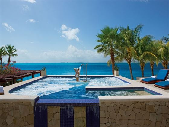 Thalasso spa at Zoetry Villa Rolandi Island Mujeres