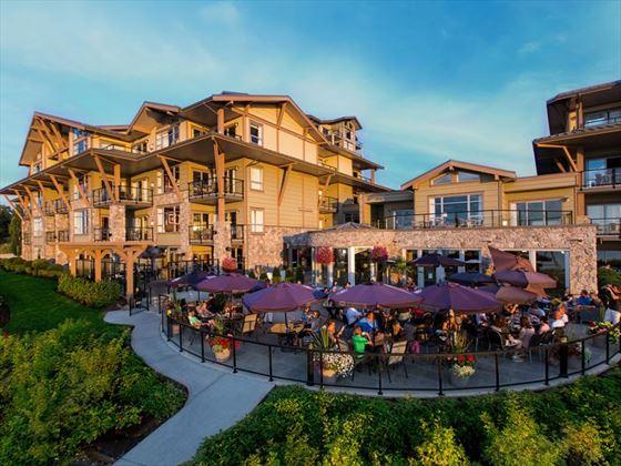 The Beach Club Resort patio