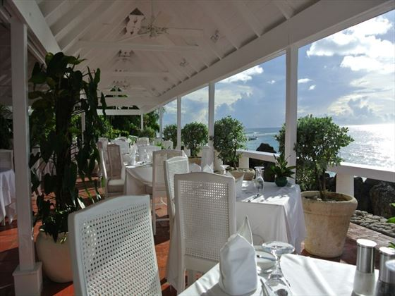 The Camelot Restaurant at Cobblers Cove