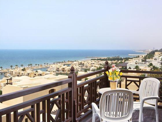 The Cova Rotana, Premium Room balcony