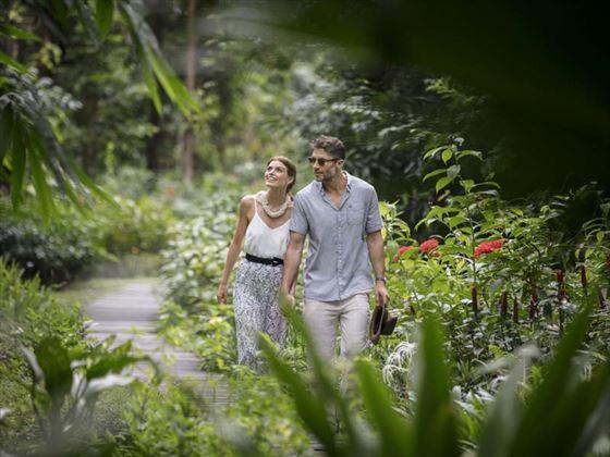 The Datai butterfly garden