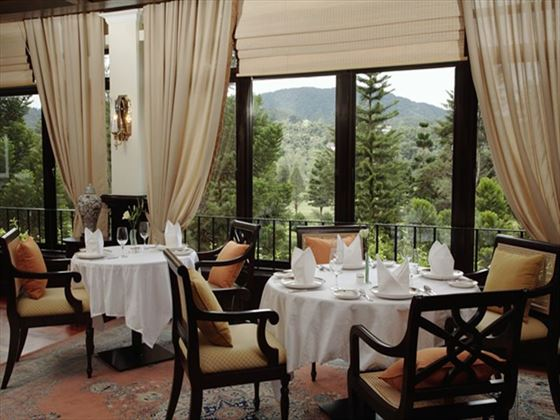 The Dining Room restaurant at Cameron Highlands Resort
