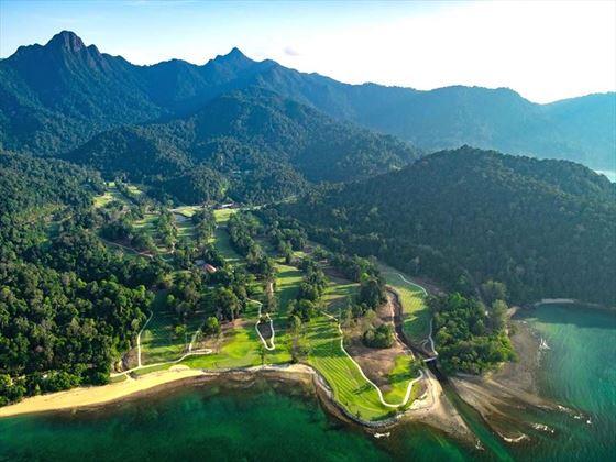 The Els Club Teluk Datai Aerial