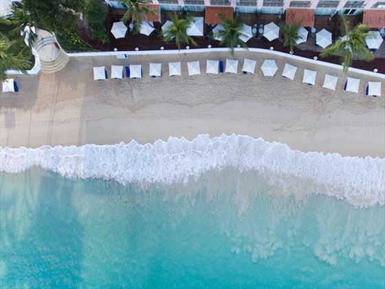 Aerial view of The Fairmont Royal Pavilion, Barbados