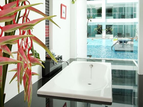 Bathroom of Pool Access Room