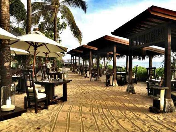 The Rak Talay restaurant at Pimalai Resort & Spa