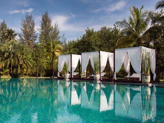The Sarojin swimming pool