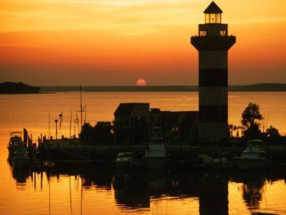 Town Harbour Lighthouse, South Carolina