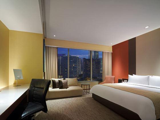 Traders Hotel Kuala Lumpur Deluxe Garden View Room