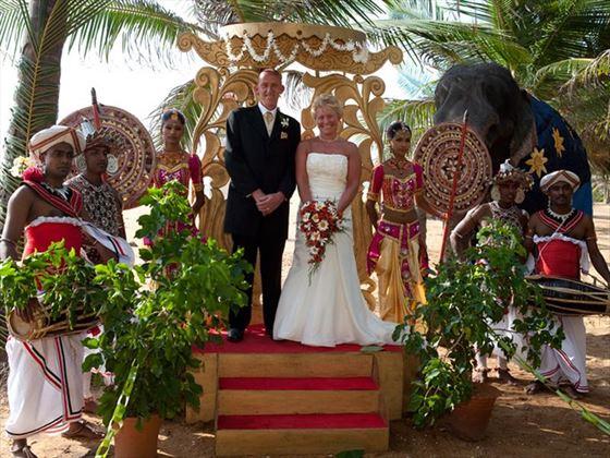 Traditional Sri Lankan wedding