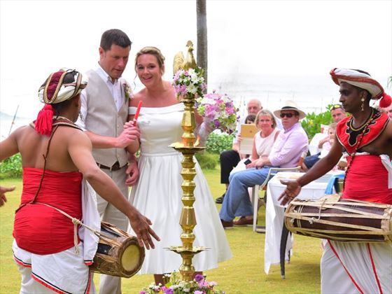 Traditional Sri Lankan wedding rituals