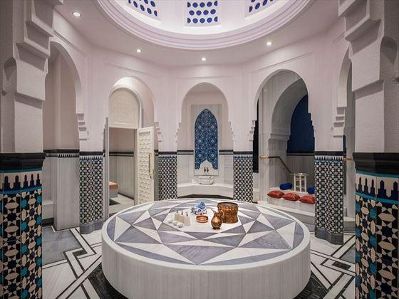 Turkish Bath in the Spa at Rixos Saadiyat Island