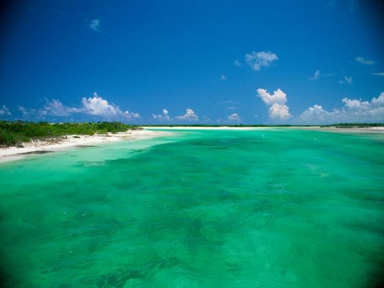 Ocean view at Turks and Caicos