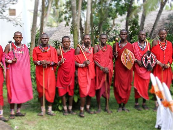 Turtle Bay Massai warriors